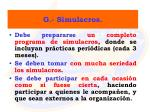 g simulacros