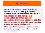 h planos