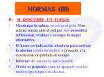 normas iii