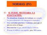 normas iv