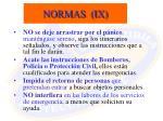 normas ix