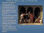 jurament dels horacis j l david s xviii neoclassicisme