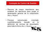 concepto de control de gesti n