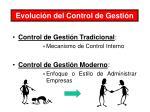 evoluci n del control de gesti n