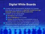digital white boards