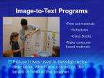 image to text programs