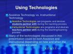 using technologies5