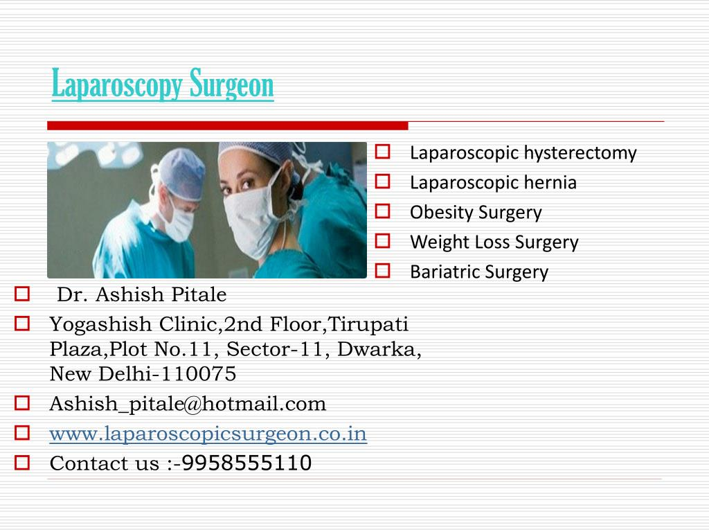 laparoscopy surgeon l.