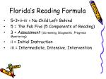 florida s reading formula11