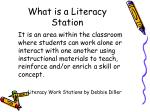 what is a literacy station