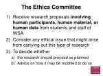 the ethics committee3