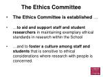 the ethics committee4