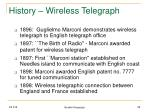 history wireless telegraph