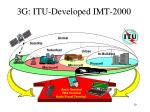 3g itu developed imt 2000