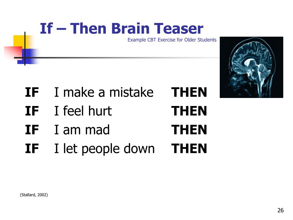 If – Then Brain Teaser