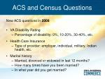 acs and census questions5