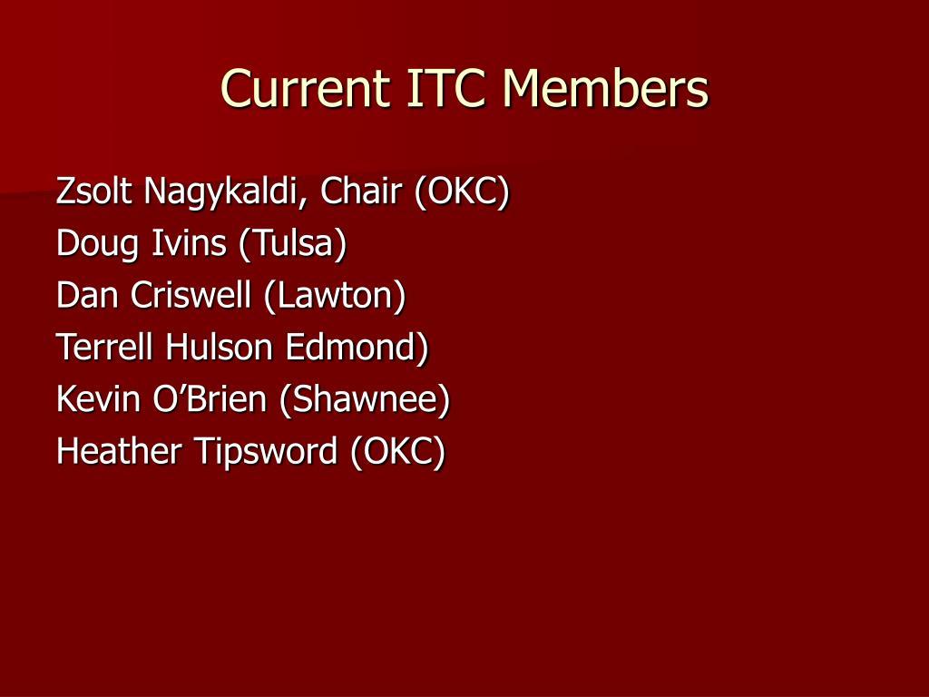 Current ITC Members