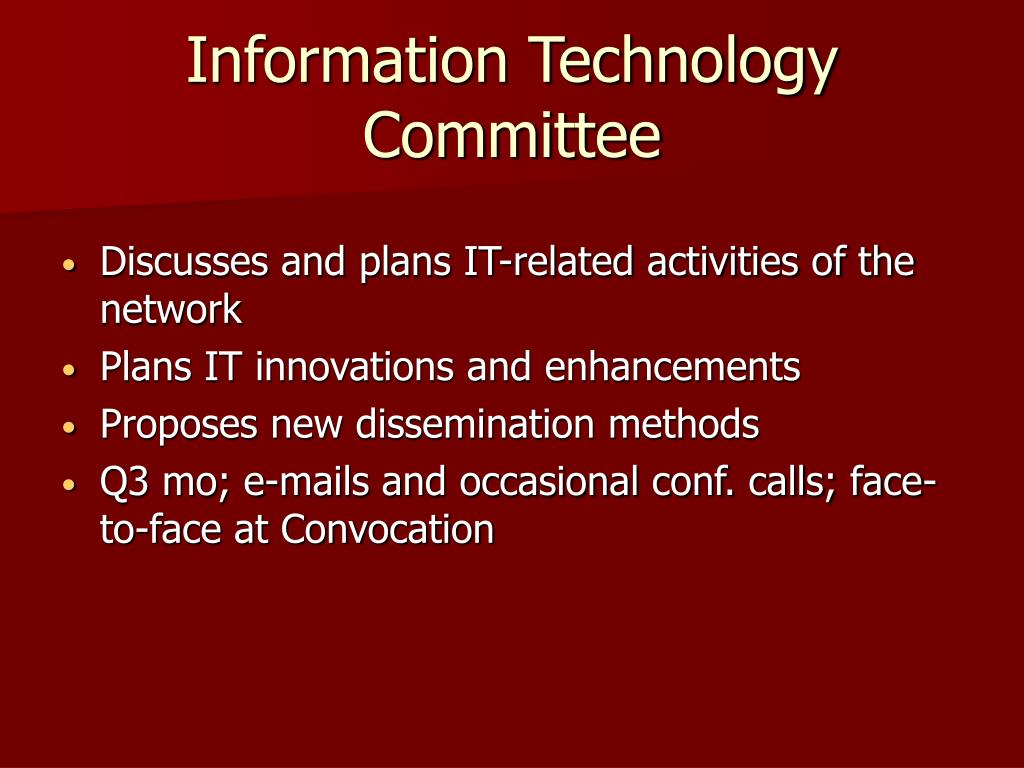 Information Technology Committee