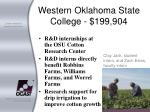 western oklahoma state college 199 904