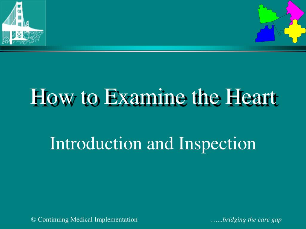 how to examine the heart l.