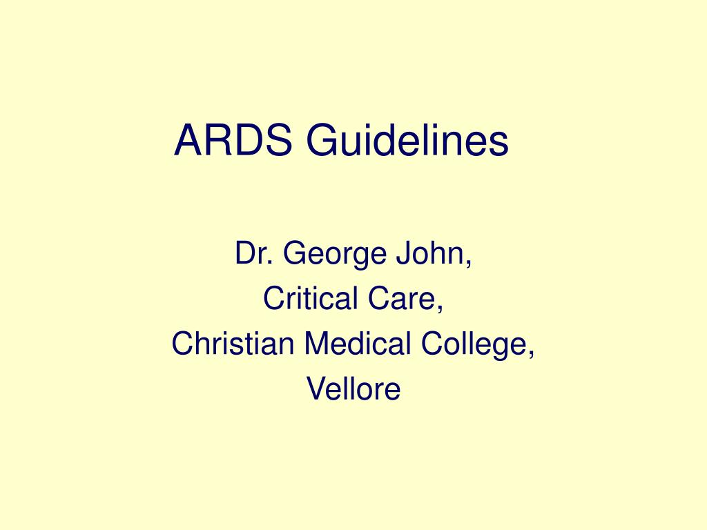 ards guidelines l.