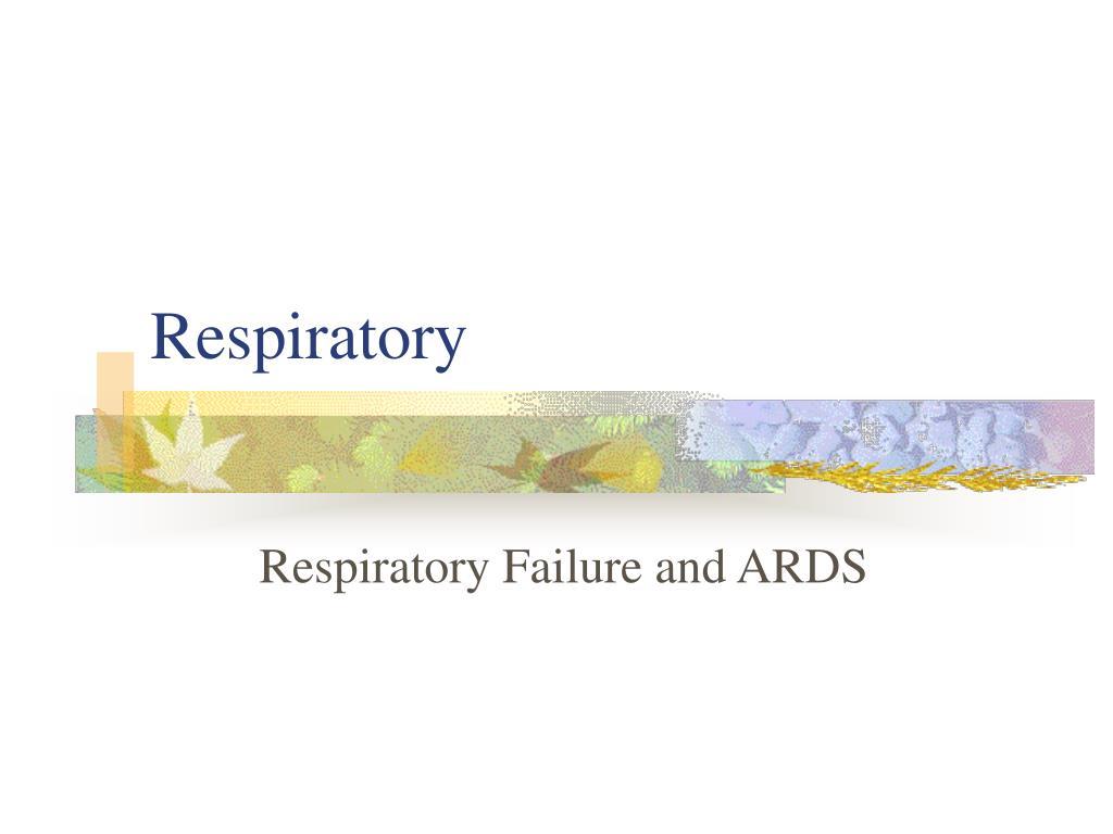 respiratory l.