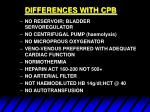 differences with cpb