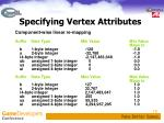 specifying vertex attributes1