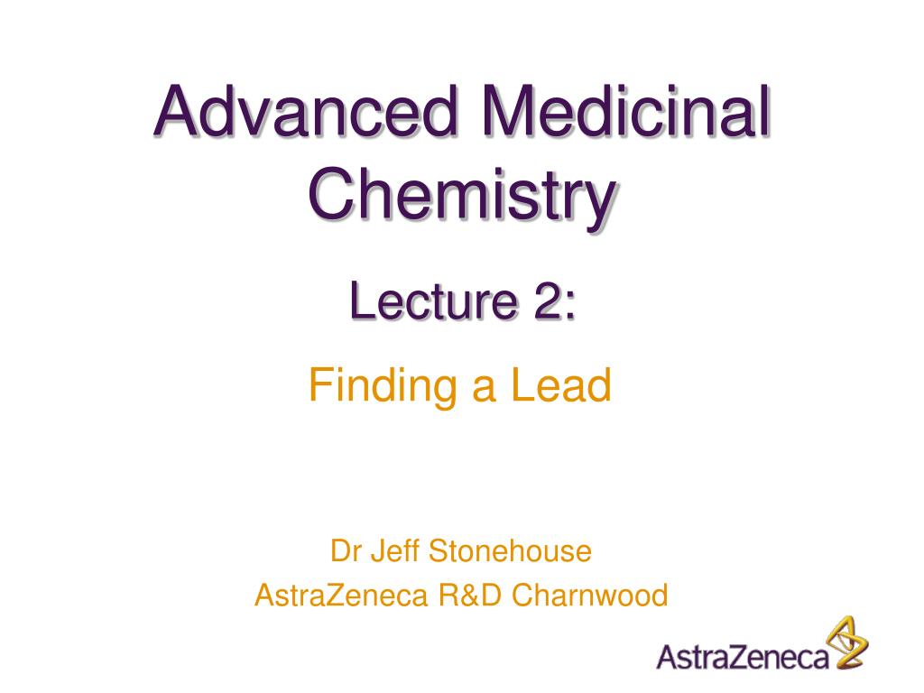 advanced medicinal chemistry l.