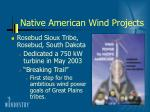 native american wind projects