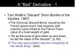 a bad derivative 1