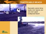 trafficable beach
