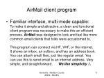 airmail client program