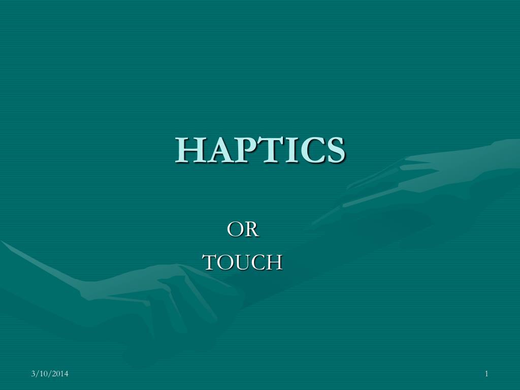 haptics l.