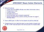 aresmat basic action elements2