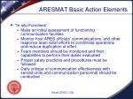 aresmat basic action elements3