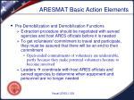 aresmat basic action elements4