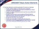 aresmat basic action elements5