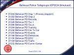 bellevue police talkgroups epsca simulcast