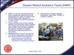 disaster medical assistance teams dmat