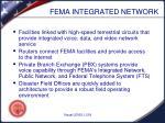 fema integrated network
