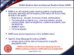 noaa weather alert and national weather radio nwr