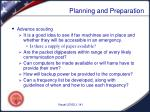planning and preparation5