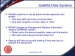 satellite data systems