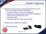 satellite telephones