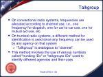 talkgroup