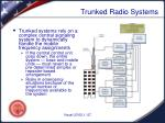 trunked radio systems1