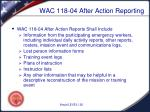 wac 118 04 after action reporting1