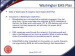 washington eas plan