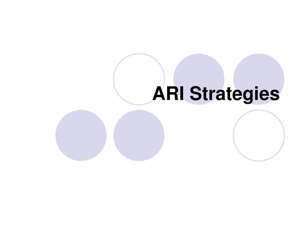 ari strategies l.